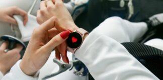 zakupy, smartwatch