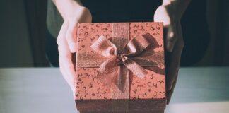 zakupy, prezent