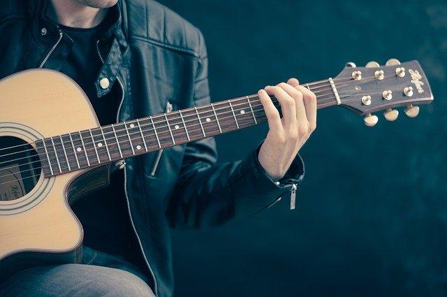 zakupy, gitara