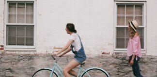 rower damski, zakupy