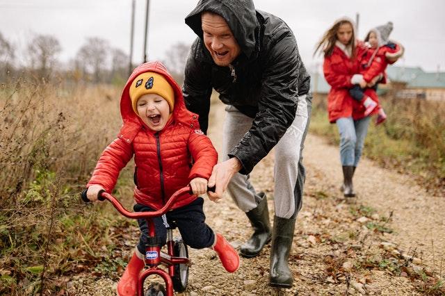 zakupy, rower dla dzieci